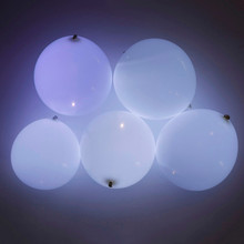 12 Inch 100pcs/Lot Led Flash Balloons Helium Balloon Inflatable Festa Casamento Wedding Birthday Party Supplies Baby Shower(China)