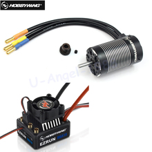 1pcs Original Hobbywing EZRUN MAX10 60A Waterproof Brushless ESC +3652 G2 KV5400/4000/3300 Motor for 1/10 RC Car(China)