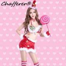 Chafferer Crown Bowknot New Festival Halloween Costumes Nightclubs Bars Dancers Party Club Bell Neckline Christmas Sexy Costumes(China)