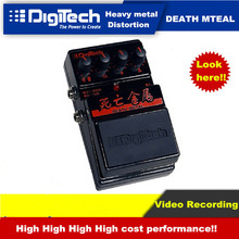 Electric Guitar Effects Tube Death Metal Overload Digitech  Video RecordingHigh Cost Performance  Overdrive Aluminum Distortion