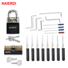Wrench-Tool Padlock Hardware Pick-Set Tension Combination Locksmith-Supplies NAIERDI