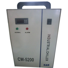 CW-5200AG industrial water chiller industrial refrigeration chiller for one piece CO2 laser tube 130W 150W 180W