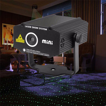New Quality Guaranteed Black laser Projector Holographic Star Stage outdoor Laser light Disco effect DJ lighting party lights(China)