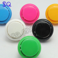 50 PCS/lot 30mm Round Push Button/arcade button with switch, buttons for slot machine(China)