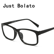 New Square Eyeglasses Frames Men Eyeglasses Black Frame With Clear Glasses Computer Eye Glasses Women Eyewear Myopia Designer