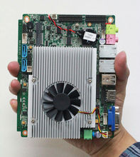 Fanless core i5 mini  motherboard, 115*155MM Mini i5 12v pc Board for windows7 vehicle PC
