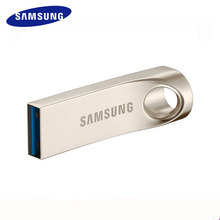 SAMSUNG USB Flash Drive Disk USB3.0 32G 64G 128G Metal Mini Pen Drive Pendrive Memory Stick Storage Device U Disk 130MB/S(China)
