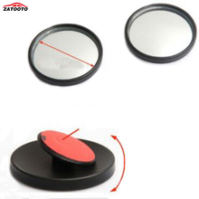 ZATOOTO  (20 pairs /lot)  High Quality 360 Degree Adjustable Wide Angle Lens Car blind Spot Mirror 4.5cm