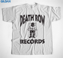 Chinese Style Gildan Comfort Soft Men O-Neck Death Row Records Short Sleeve Shirt(China)
