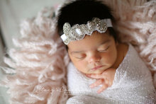 The New fashion creative DIY jewelry LOVE newborn  headbands Children accessories elastic rhinestone headband