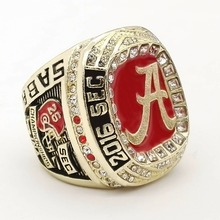 Drop shipping High Quality 2016 Alabama Crimson Tide SEC Football Championship Ring Size 9 to 13