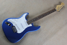 Free Shipping Custom Shop Stratocaster green Electric Guitar With 3 Pickups Left Handed Guitar in stock @31(China)