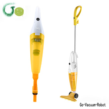 2in1  Handle stick vacuum cleaner for home flexible ground brush,large dust boxcapicity,HEPA fliter,white&yellow cleaner