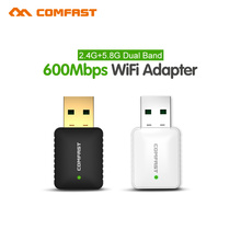 comfas 600Mbps usb Wi-fi Network LAN Card 802.11ac 5G WiFi Adapter Dongle & soft AP router CF-915AC USB wi fi Wireless Adaptor