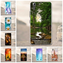 "Soft TPU Phone Case for Lenovo A6010 Plus & A6000 & for Lenovo Lemon K3 K30-T Cover Skin 5"" K 3 A 6000 6010 Case for Lenovo"