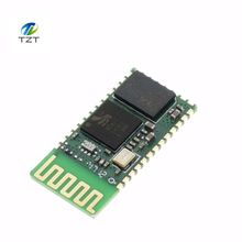 Free shipping! 1PCS HC06 HC-06 Wireless Serial 4 Pin RF Transceiver RS232 TTL Bluetooth Module Plug-in(China)