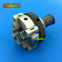 FitSain-Four jaw chuck D=50mm CNC mini lathe chuck Bench Lathe parts machine drill press chuck Used for motor shaft 8mm/10mm