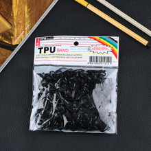 300pcs/lot Rubber Rope Ponytail Hair Holders Rubber Bands Ties Braids Plaits headband hair clips Elastic Hair Bands Accessories
