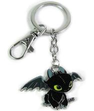 Toothless/night Fury How To Train Your Dragon Key Ring Figures Necklace Pendant Keychain Anime Figures One Piece Action Figure(China)