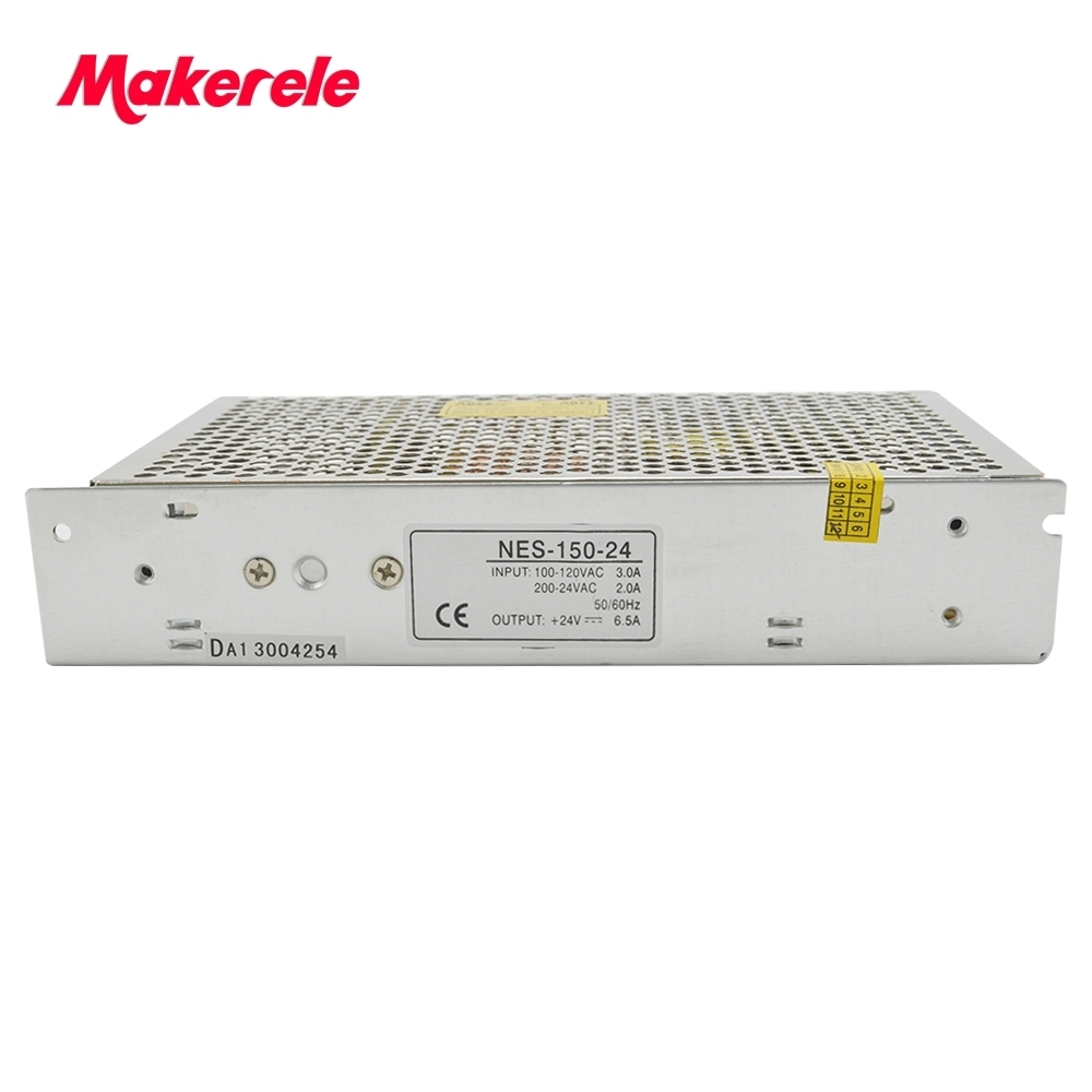 150W Switching Power Supply 5V 12V 15V 24V 48V high efficiency low costs  single out metal case CE approved 1pc AC85~264Vin<br>