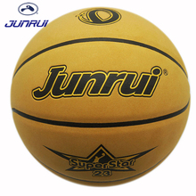 JUNRUI Durable Men's Basketball Outdoor Sport 7# Microfiber PU Leather Indoor Play Training Equipment basket homme JB-703(China)