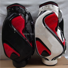 Brand New Boyea Golf Bag for Men 2 Colors PU Golf Standard Ball Bag With Cover EMS Free Shipping