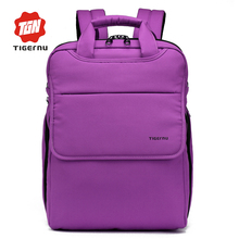 Tigernu New Fashion women backpack laptop backpack bag korean style Multifunction Backpack school bags for teenager girls boys(China)