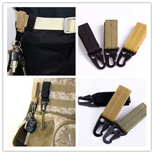 molle webbing backpack bushcraft attach belt clip kit Carabiner strap Quickdraw clasp outdoor hike camp tactical travel bag