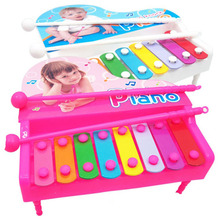 1 Set Children Classic Hand Knock Octave Piano Infant Baby Early Educational Music Instruments Toys Kids Percussion Popular Game(China)