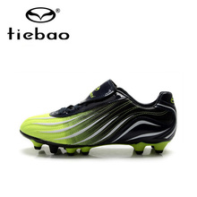 Tiebao Professional Men Training Soccer Cleats Sneakers HG & AG Sole Football Boots Outdoor Soccer Shoes chuteira futebol