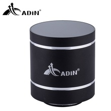 ADIN Metal Bluetooth Speaker 10W Mini Vibration Speaker Mobile Wireless Computer Small Subwoofer Sound Speaker Altavoz Bluetooth
