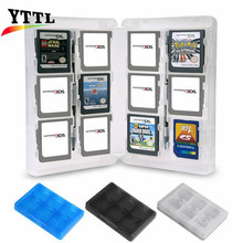 28 Slots Memory Card Holder Game Card Case Box Cartridge Anti Dust Anti Scratch Protect for  3DS LL XL DS Games Cards
