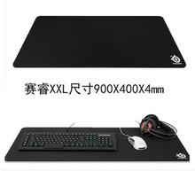 NEW Super LARGE size steelseries OEM QCK HEAVY Mouse Pad 900x400x4mm Rubber Gaming Mouse Pad Games Necessary Mat Free Shipping(China)