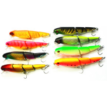 Random Color Hot Sale New Promotions 1 Pc Lifelike Colorful Minnow Lure Water Crank Bait Multi-Hooks 10.5cm 14g(China)