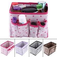 Large Capacity Foldable Multifunction Make Up Cosmetics Storage Box Container Bag Dresser Desktop Cosmetic Makeup Organizer(China)