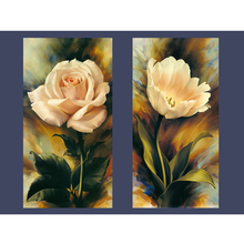 Diamond Embroidery swing Rose Paintings Cross Stitch Rhinestone Mosaic Handmade Flower Wall Pictures For Living room DIY(China)