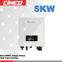 SGN5400TL inverter,5years warranty inverter with solar charger connected 250w 300w solar panel inverter to grid(China)