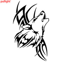 Cool Graphics Tattoo Wolf Car Motorcycle Body Stickers Vinyl Car Styling Decal Accessories