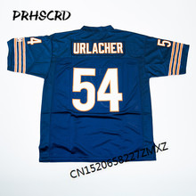 Retro star #54 Brian Urlacher Embroidered Throwback Football Jersey(China)