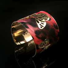 Fashion Romantic Butterfly Big Bracelet Bangle For Women Scrub Wide Opened Hollow Cuff Bracelets Bangles Pulseras Jewelry