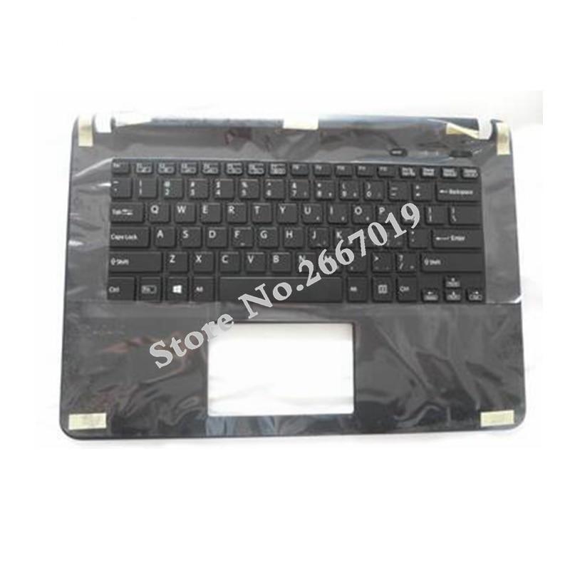 SONY VAIO SVF14 SVF143A1QT FIT14E SVF142A23T US  Backlit Keyboard Palmrest Black