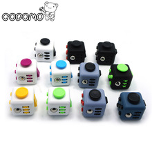 11pcs/lot Fidget Cube stress toys set for adults 2017 New Fidget toys stress cube mini with box relieve anti stress oyuncak gift