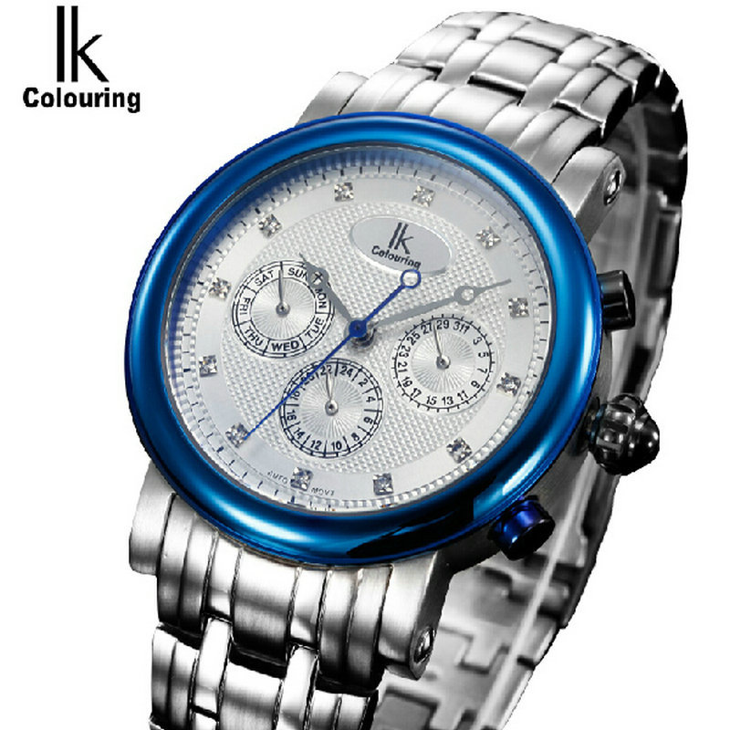 For multifunctional male watch casual mens watch ik fully-automatic mechanical watch<br><br>Aliexpress
