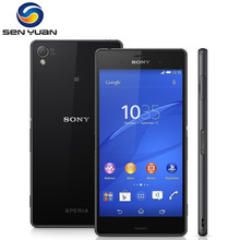 "Unlocked Original Sony Xperia Z3 D6603 Cell Phone 5.2"" 20.7MP Quad-core Android OS 16GB ROM 3GB RAM  Z3 phone"