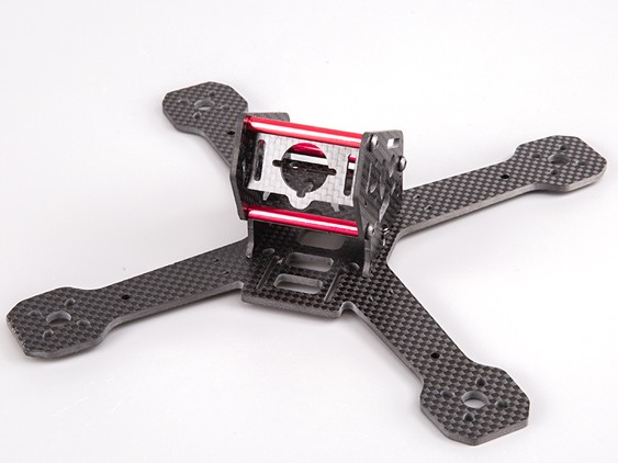 BeeRotor 200 200mm 4-Axis Full Carbon Fiber Racing Mini Quadcopter Frame<br>