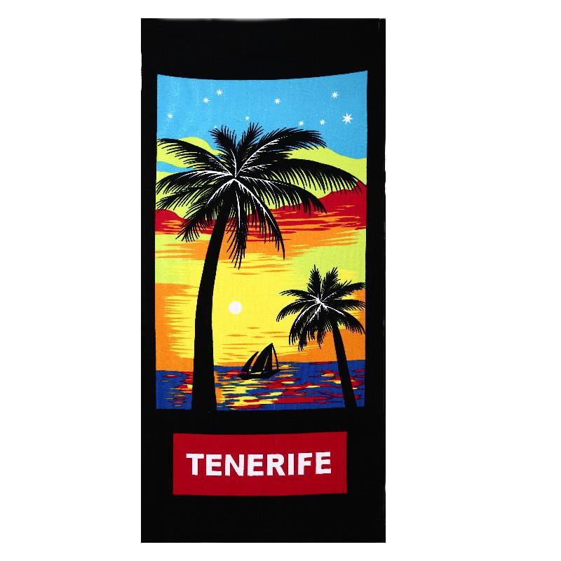 Micro Fiber Printed Beach Towel 140*70cm 22