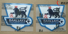 2004-2007 F.A. Premier League Standard White Soccer patches 2004-2007 LEXTRA EPL white patches