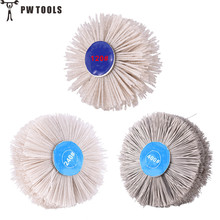 1 pcs Transparent Abrasive Polishing Wire Brush Root Carving Furniture Polishing 120/200/400# can choose