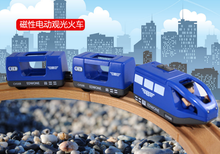 CRH Harmony number NEW wooden track Trailer Thomas and friend MAGNETIC Electric locomotive head CRH(China)