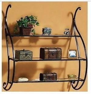 Diaphragn tieyi shelf wall rack bathroom fashion rustic<br><br>Aliexpress